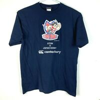 Japan Rugby x Atom Canterbury Shirt Size Men's 3L