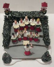 Dept 56- Village Animated Holiday Singers- Plays Christmas Music- #52505