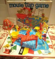 Mouse Trap Board Game Ideal 1963 Big Box Ed Complete Vintage Original Great Cond