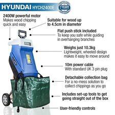 More details for hyundai electric garden shredder, 2400w / 2.4kw, 230v   hych2400e