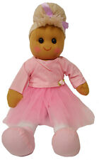 Ballerina Rag Doll with Pink Tutu Powell Craft Large 40cm Perfect Gift
