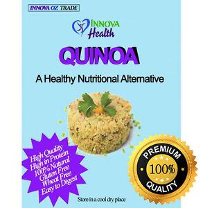 3Kg WHITE QUINOA -SUPER FOOD - HIGH PROTEIN- NO CHEMICALS FERTILIZERS