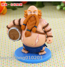 "4"" LOL League of Legends Rabble Rouser Gragas Figure Decoration Figurines Statue"