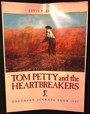 Tom Petty Concert Levi's Southern Accents promo.poster 1985 old stock