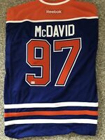Connor McDavid Signed Authentic Oilers Jersey