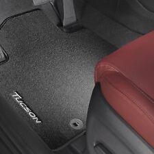 Nuevo Hyundai Tucson Alfombra esteras genuino Hyundai con el logotipo de Tucson conjunto delanteras y traseras