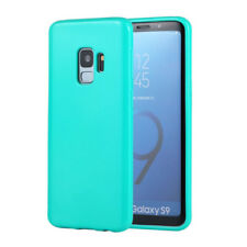 COVER Custodia Morbida TURCHESE GEL Silicone per Samsung Galaxy S9