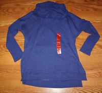 NWT Womens MARC NEW YORK Purple Cowl Neck LS Long Sleeve Sweater S M L XL