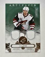 2017-18 17-18 UD Artifacts Material Silver #112 Max Domi /125