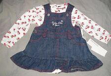 robe jean coton neuve etiquetée calvin klein  taille 3-6 mois