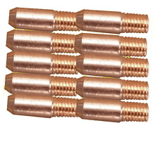 M5 (MB14) MIG Welding Contact Tips - (Pack of 10) - 0.8mm