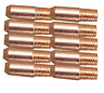 M5 (MB14) Mig Welding Contact Tips - (Pack of 10) - 0.9mm
