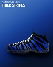Nike Air Foamposite One MT QS Size 12 Penny Hardaway Memphis Tigers