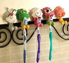 Animal de silicona titular de cepillo de dientes de casa de pared de suspensión