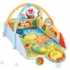 Spielbogen 2 in 1 Erlebnisdecke Baby Nestchen Spieldecke Krabbeldecke Babygym