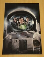 DOCTOR WHO PRINTED POSTCARD ~ MEETING THE IMPOSSIBLE ASTRONAUT ~ NEW