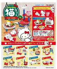 Sanrio Hello Kitty cat cafe Complete Box - Re-ment  ,  h#3