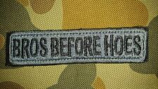 NEW BROS BEFORE HOES SUBDUED TACTICAL MORALE AIRSOFT HOOK PATCH AUSTRALIA SELLER