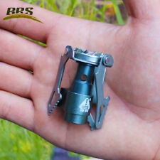 25g Ultralight Titanium Gas Stove Cooker Burner Outdoor Camping Folding Portable