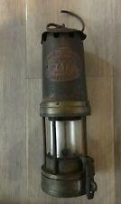 Old Original Brass E Thomas & Williams Ltd Aberdare Type No 67 Miners Lamp