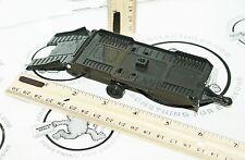 """KENTOYS HITCH-UP TOY BLACK CAR HAULER TRAILER 6.75"""" VEHICLE VINTAGE 1998 USED"""