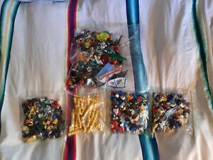 LEGO BULK MINIFIGURE PARTS / Figure Lot 1.8KG