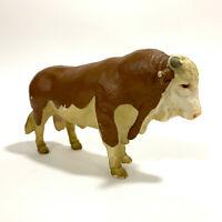 SCHLEICH Fleckvieh Bull 1995 Germany Made RARE RETIRED