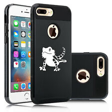 For iPhone SE 5s 6 6s 7 Plus Shockproof Hard Case Cover Bearded Dragon Lizard