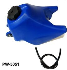 Blue FUEL GAS TANK FOR MotorBike YAMAHA PW50 PW-50 PEEWEE PW PY 50 DIRT Bike 4D