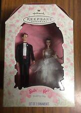 Hallmark Keepsake Ornament Barbie & Ken Bride Groom Wedding Day 1997 Cake Topper