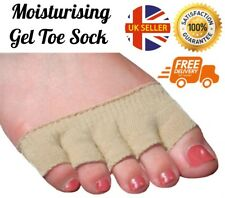 Moisture Gel Toe Socks Soothes Painful Toes Relief Corns Callouses Cracks Repair