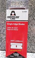 100 Pack Single Edge Razor Blades