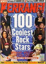100 Coolest Rock Stars Kerrang 1998  Gavin Rossdale  Burton C Bell  Chino Moreno