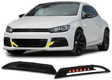 SET OF SMOKED LED INDICATORS FOR THE VW SCIROCCO 137 05/2008 ONWARDS