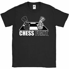 Chess Fight Castles Duel In Tug Of War Rope Match Mens T-Shirt