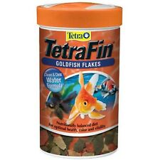 Tetra TetraFin Goldfish Flakes with ProCare, Goldfish Food, 7.6 oz Multicolor