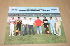THE ALLISON FAMILY BOBBY DAVEY DONNIE CLIFF HUT STRICKLIN LARGE POSTER HERO CARD