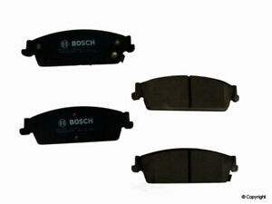 Disc Brake Pad Set-Bosch QuietCast Rear WD Express 520 11940 462