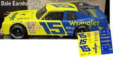 CD_611 #15 Dale Earnhardt Sr. Wrangler Jeans Chevy  1:64 Scale Decals