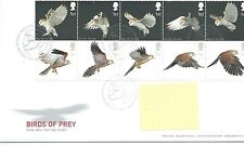 GB - FIRST DAY COVER - FDC - COMMEMS -2003- BIRDS OF PREY - Pmk TH