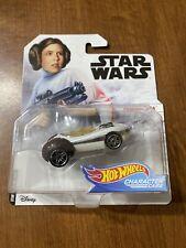 Disney Star Wars Princess Leia Collector Hot Wheels Character Cars New