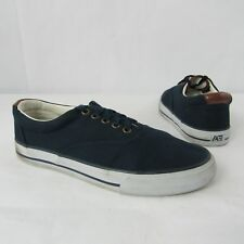 df70d7b32b American Eagle Outfitters AEO Size 9 US Slip On Canvas Shoes Casual Lace Up  Navy