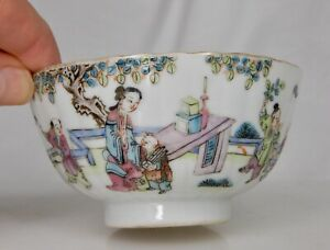 Chinese Famille Rose Porcelain Rice Bowl - 84486
