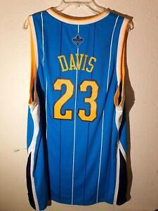 Adidas Swingman NBA Jersey New Orleans Hornets ANTHONY DAVIS Teal  2XL