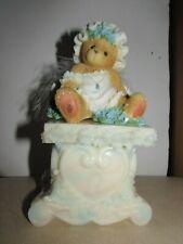 DAPHNE 661767 LE NIB CHERISHED TEDDIES 2002 FIGURINE SPRING ANGEL SERIES