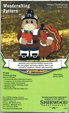Happy Thanksgiving Woodworking Plans by Sherwood Creations