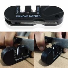 EDC Knife Sharpener Tungsten Steel Grindstone Diamond Taper Outdoor Pocket Tool