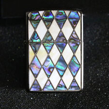 Zippo Shellfish Inlay Japan Limited Not listed Catalogue Rare Lighter Armor Case