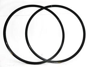 2 QTY Mavic XM 424 32 Hole 32H 29er MTB Bike Rims Black Aluminum Disc NEW