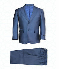 Blue Waistcoat Occasion Wear & Accessories for Boys